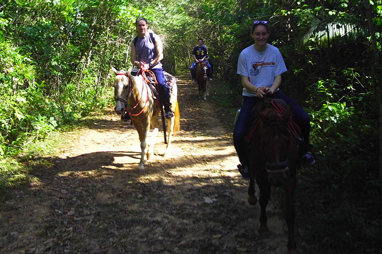 Horseback Riding is lots of fun at duPlooy's