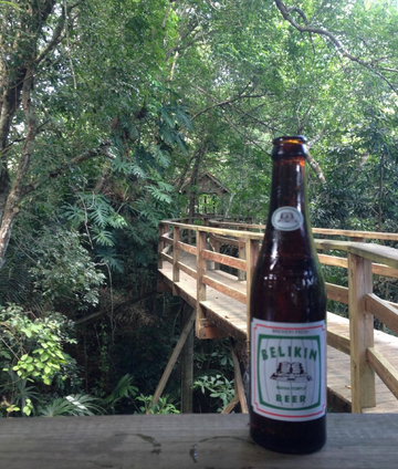 Relax with a cold Belizean Beer